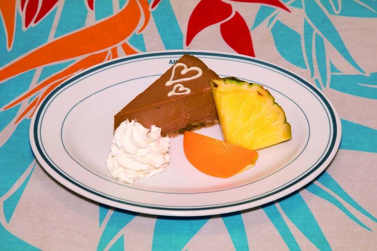 チョコレートチーズケーキ1