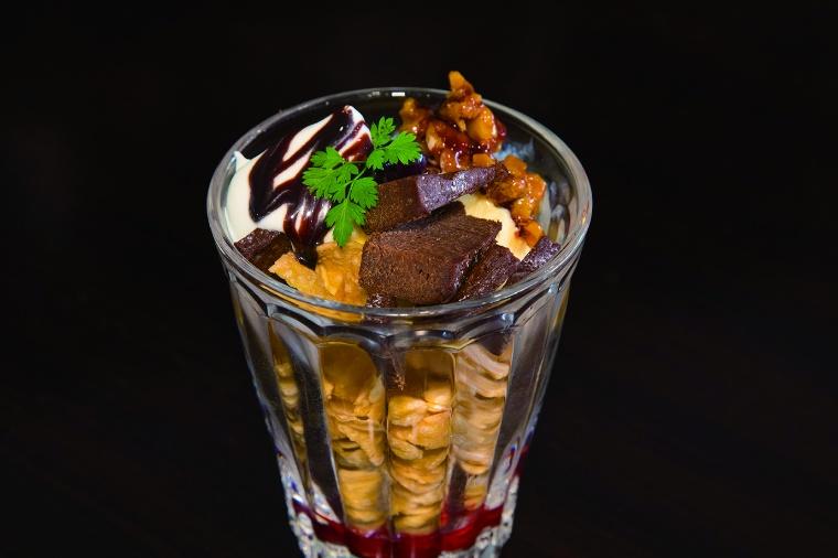 ショコラ de パフェ1