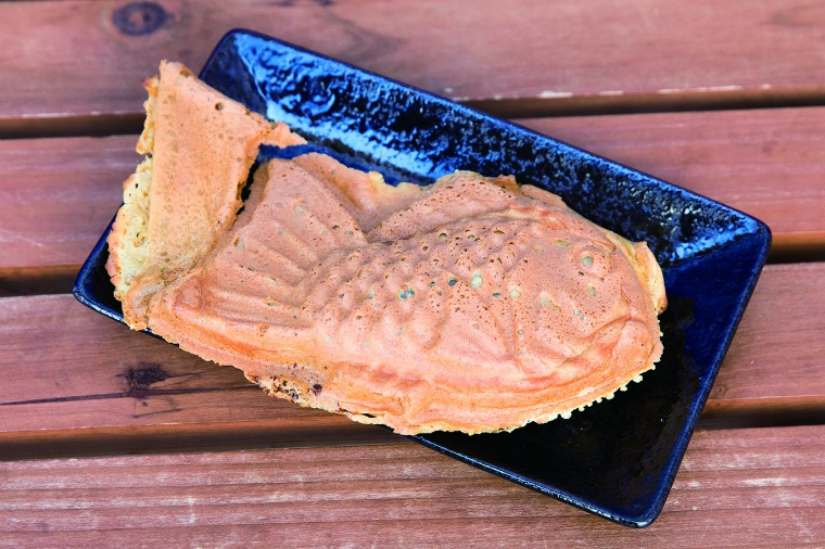 チョコレート鯛焼1