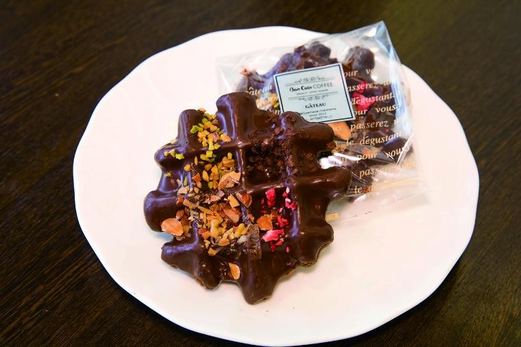チョコレートワッフル1